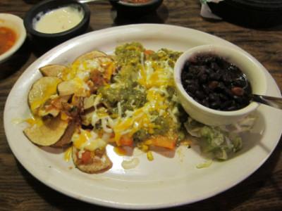 Enchiladas de rajas at Casa Perico