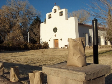 The Catholic Church in Tularosa