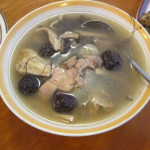 Fa cai soup is eaten to make money during the New Year