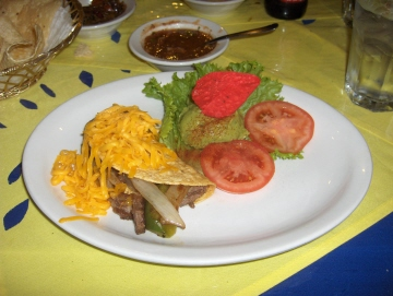 One of the tacos served at Adobe Grill