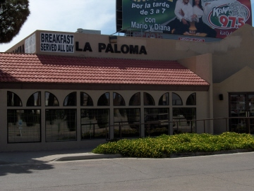 La Paloma on Dyer St.