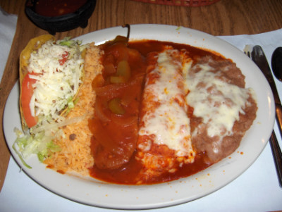 Amigos Restaurant Combination Plate