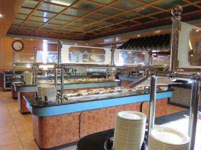 Hunan Wok's buffet