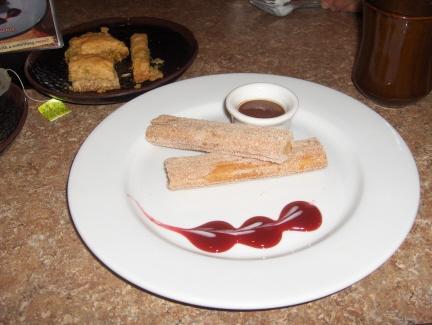 Mediterranean style dessert