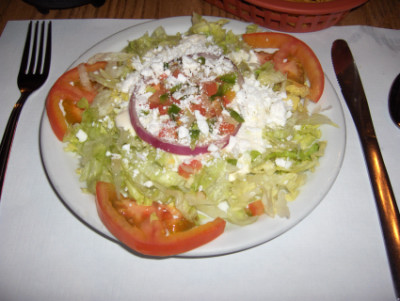"The ""old"" Amigos salad"