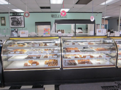 Brown's Bakery display
