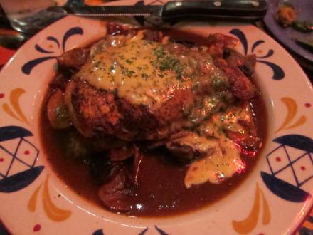 Chicken pontalba