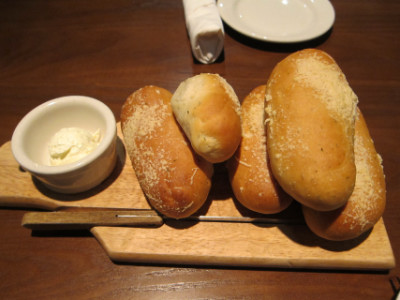 Complimentary bread