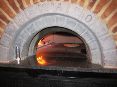 Tommy's wood fired oven