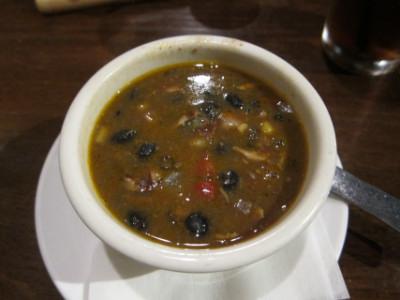 Santa Fe chicken soup