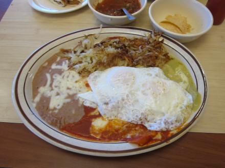 Enchiladas montadas