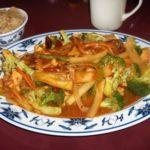 Yu sang broccoli