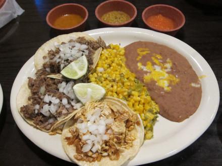 Street tacos full order