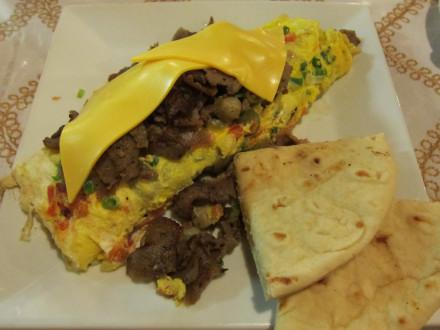 Gyros omelette