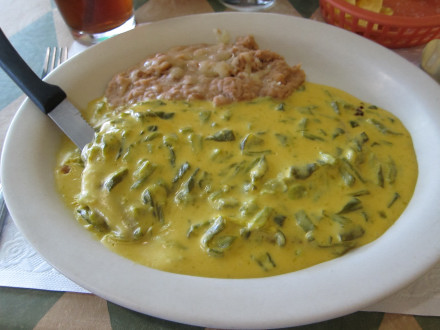 Chile con queso steak