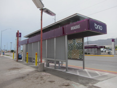 The Brio stop in front of Kal Bi