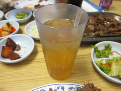 Korean iced tea