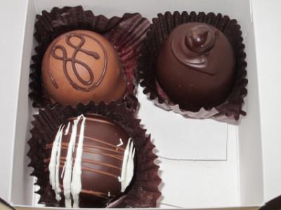 Coffee flavored chocolates
