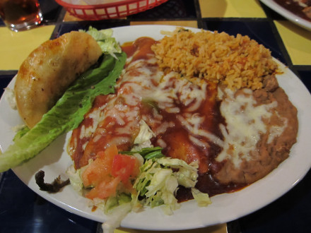 Mexican plate no. 3