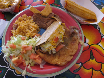 Super Mexican Plate