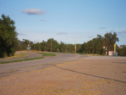 Route 66 in Texola, OK