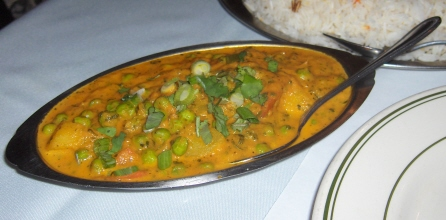 Aloo matar is a delicious way to eat your peas