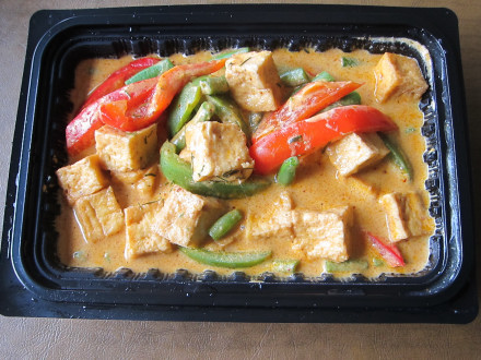 Takeout version of Panang curry