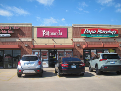 Pasta2go and Eat Katmandu are two restaurants in one building