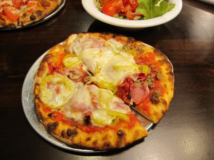 The true Italian pizza is a good choice on the Signature Pizzas