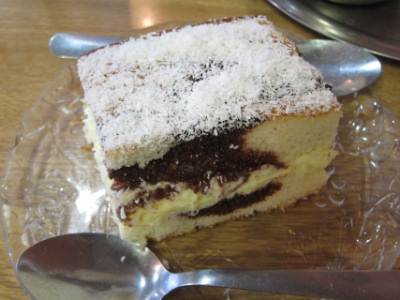 "Coconut cake is one of the ""special"" desserts"