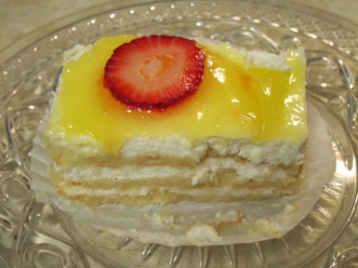 "Lemon cake is a ""special"" dessert"