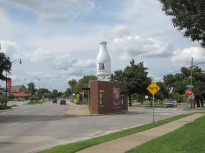 The Milk Bottle building
