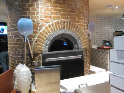 Pizza oven that Bricktown Brewery inherited from the former Tommy's Restaurant