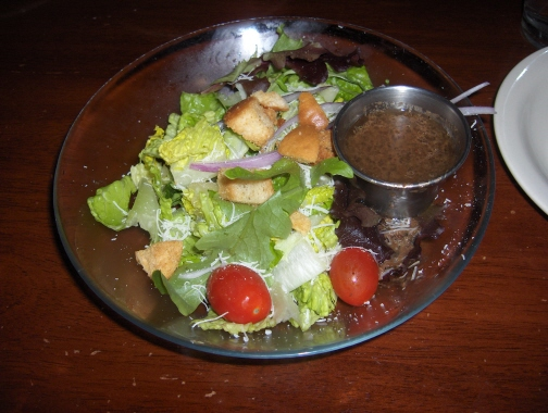 House salad from the early 2000's