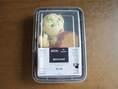 Meatloaf in the package