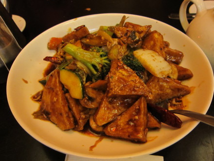 Family style tofu