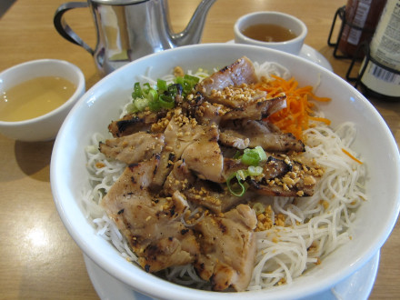 """Vermicelli bowl with chicken has been my """"go to"""" dish at Pho-ever"""