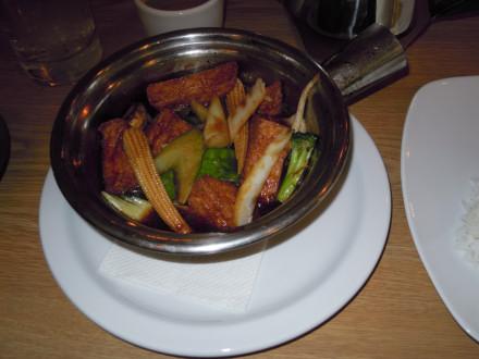 Tofu clay pot