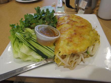 Banh xeo or Vietnamese crepe (No. 93)