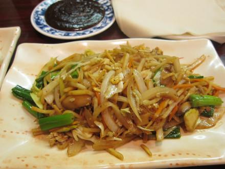 Vegetable mu shu