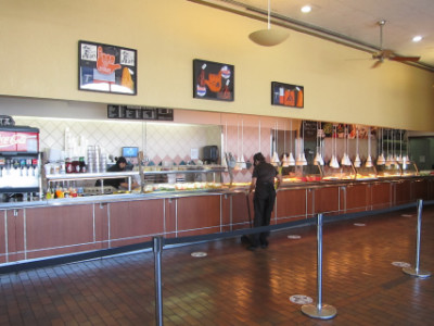 Luby's serving line